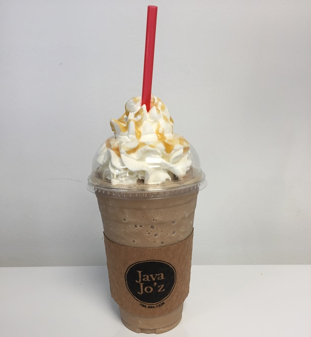 Java Jo'z frozen drink